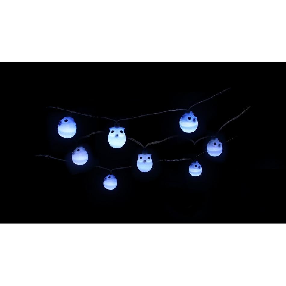Produktové foto Sharks Zahradní solární LED světelný řetěz Sovičky