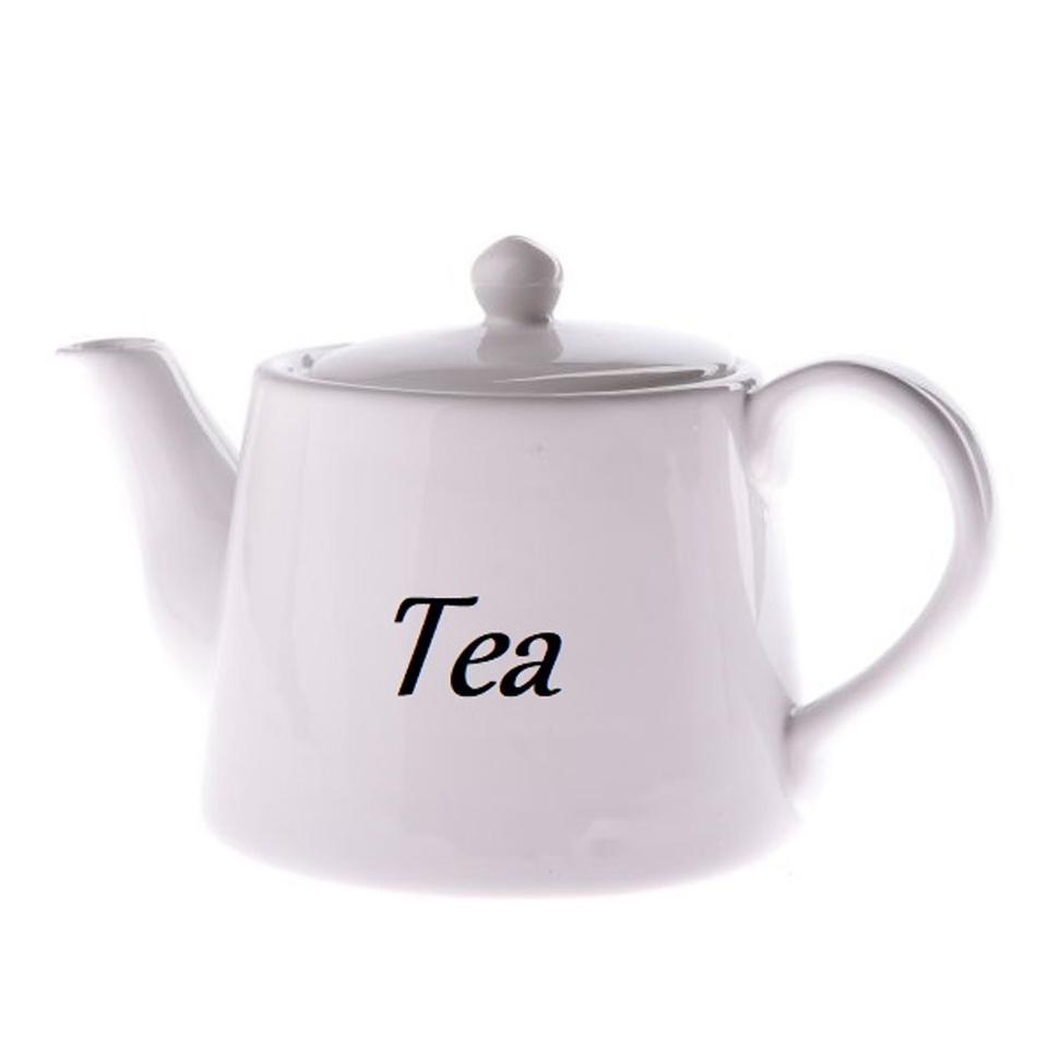 Keramická konvice Tea 1000 ml, bílá