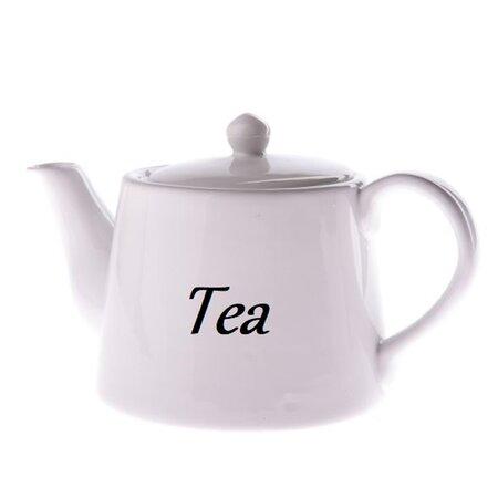 Kerámia kanna Tea 1000 ml, fehér