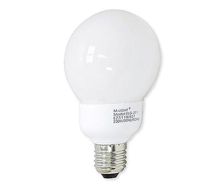 Úsporná žárovka, 25 W
