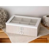 Altom Pudełko drewniane na drobne przedmioty 24 x 17 x 8 cm