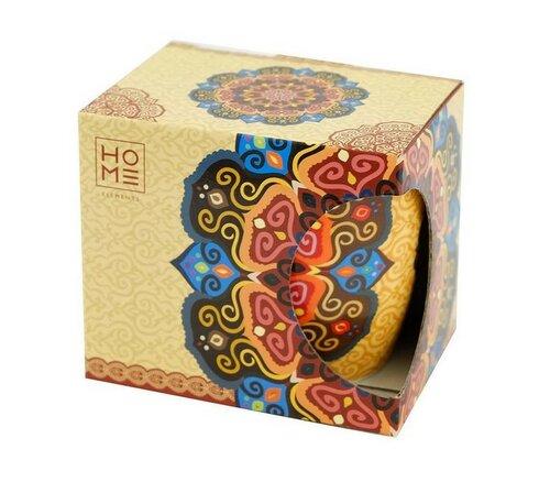 Porcelánový hrnček Mandala červená 340 ml v darčekovom balení