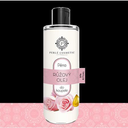 Perlé Cosmetic Pěna do koupele s růžovým olejem, 500 ml