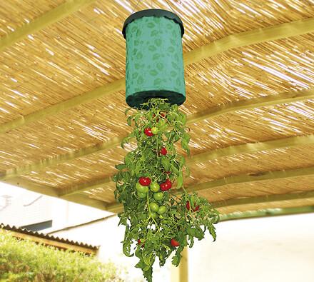 Závěsný květináč na bylinky a zeleninu