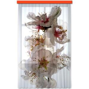 AG ART Závěs Flowers, 140 x 245 cm