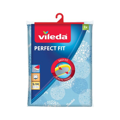 Husă masă de călcat Vileda Perfect Fit, albastru