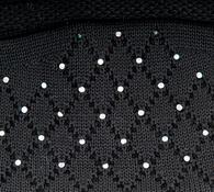 Čiapka dámska Karpet 5156, čierna