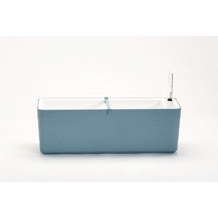 PlastiaSkrzynka samonawadniająca Berberis 60, szaro-niebieski + biały