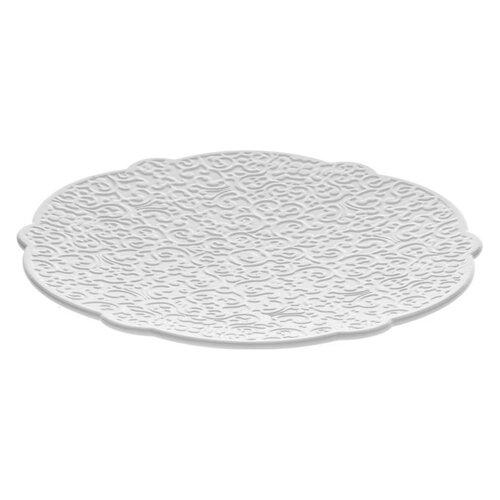 Alessi Mokka podšálka Dressed 16 cm, biely