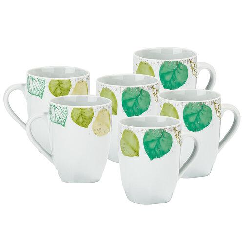 Mäser Sada porcelánových hrnčekov Spring 330 ml, 6 ks