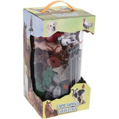 Dětský hrací set Farm animals Collection, 26 ks