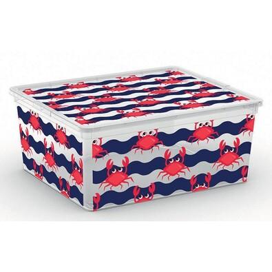 KIS Dekorační úložný box C Box Style M Cute Animals, 18 l