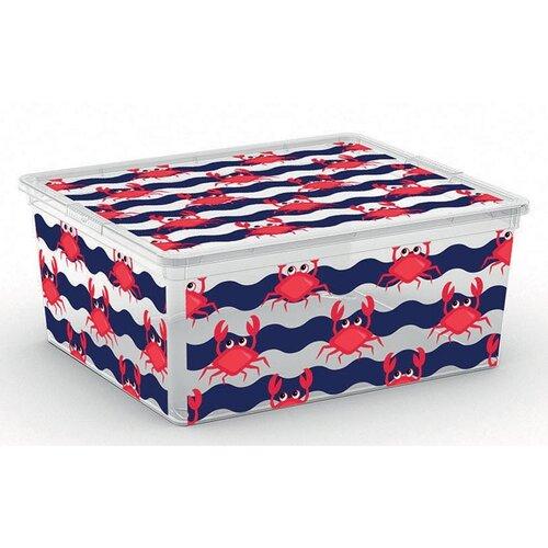 Úložný box Kis C-Box Cute Animals M 18 l