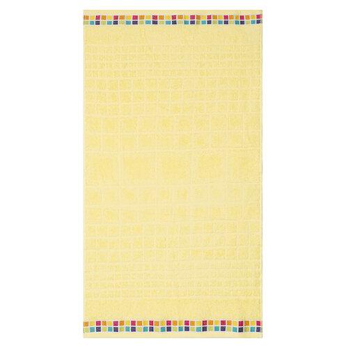Osuška Mozaik žlutá, 70 x 130 cm