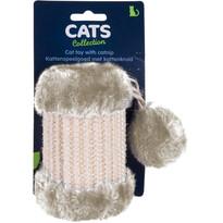 Škrabadlo pro kočky Cilinder, béžová