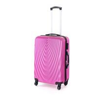 Pretty UP Walizka podróżna z tworzywa sztucznego ABS07 M, jasnofioletowy