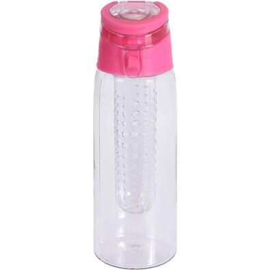Sticlă sport Lena, din plastic, 650 ml, roz