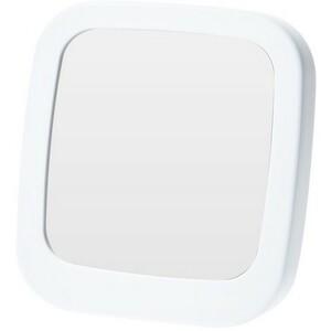 Zrcadlo Piazza bílá, 18,5 x 19,5 cm