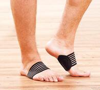 Podpora pro chodidla, černá