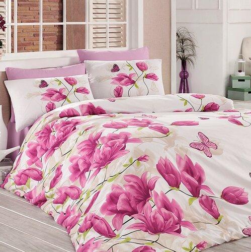 Tiptrade Bavlna obliečky Alize lila 140x200 70x90 50x70