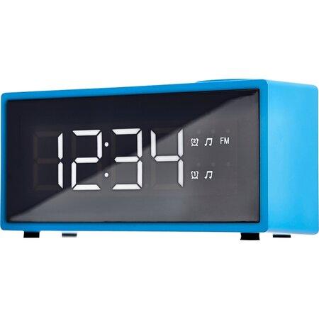 ECG RB 040 Radiobudzik cyfrowy, niebieski