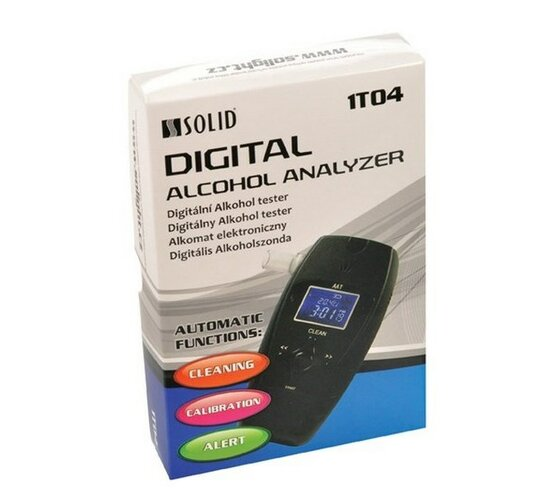 Solight Solid 1T04 alkohol tester