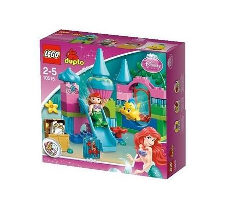 Lego Duplo Podmořský zámek víly Ariel, vícebarevná