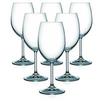 Crystalex 6 részes borospohár készlet OKA, 250 ml