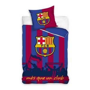Bavlněné povlečení FC Barcelona Més que un club, 140 x 200 cm, 70 x 80 cm