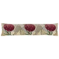 Pernă de etanșare decorativă pentru ferestre Crizantemă violet, 90 x 20 cm