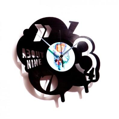 Discoclock 002 Pop nástěnné hodiny