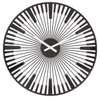 Koziol Nástenné hodiny Piano čierna, pr. 45 cm
