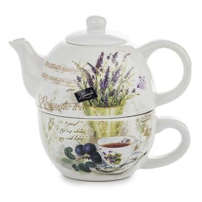 3dílná čajová sada Lavender