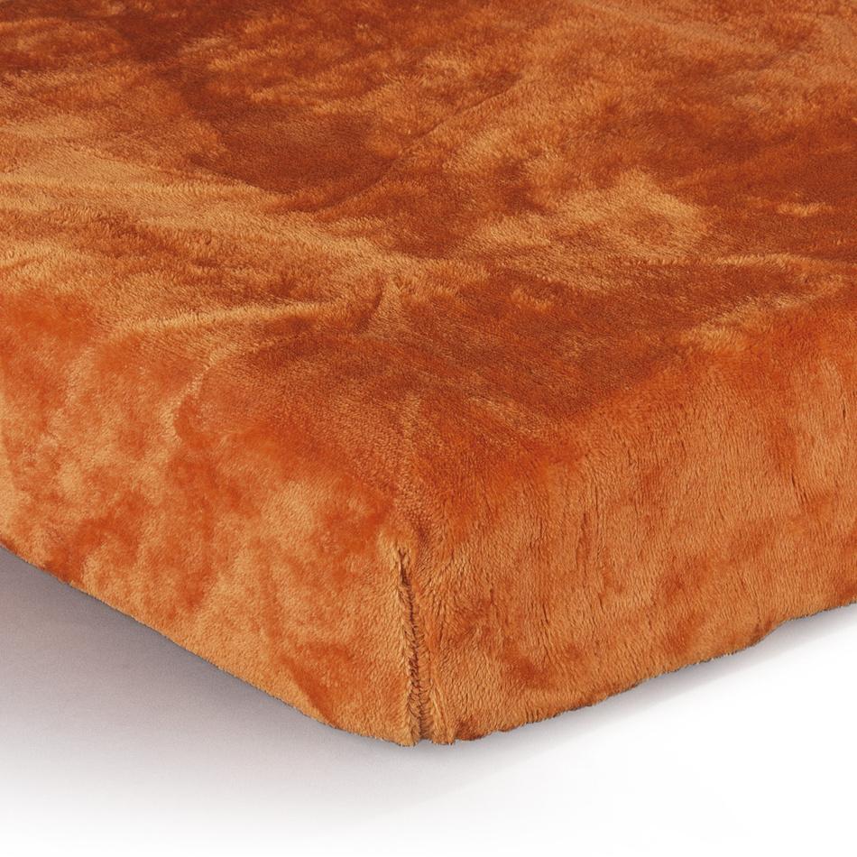 Jahu Prestieradlo Mikroplyš oranžová, 90 x 200 cm