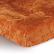 Prostěradlo Mikroplyš oranžová, 90 x 200 cm