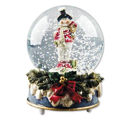 Skleněné vánoční sněžítko