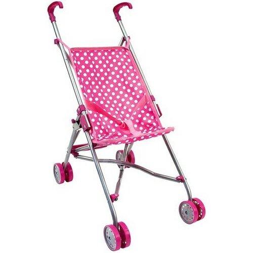Cărucior pentru păpuși Bino, roz imagine 2021 e4home.ro