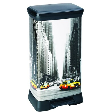 Heidrun DECOBIN NEW YORK odpadkový koš 50 L