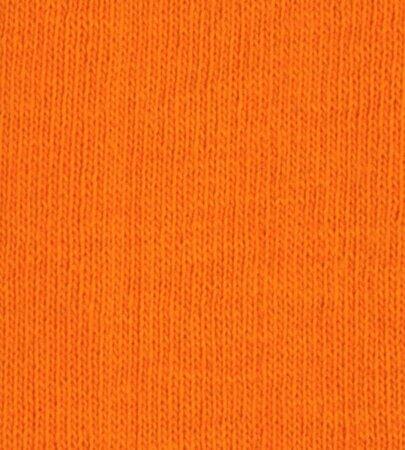 Bavlněné napínací prostěradlo žerzej, oranžová, 90 x 200 cm