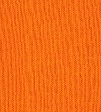 Bavlněné napínací prostěradlo žerzej, oranžová, 160 x 200 cm