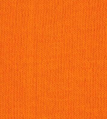 Bavlněné napínací prostěradlo žerzej, oranžová, 180 x 200 cm