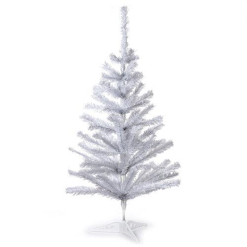 Vánoční stromeček smrček stolní v. 82 cm, bílá