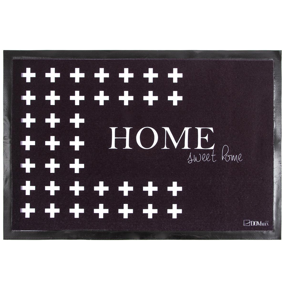 Domarex Wycieraczka NoirFloor Home Sweet Home, 40 x 60 cm