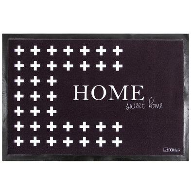 Domarex Rohožka Noir&Floor Home Sweet Home, 40 x 60 cm