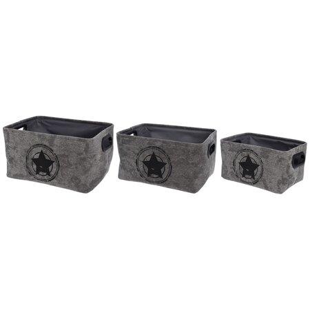 Sada dekoračných úložných boxov Star in Target, 3 ks