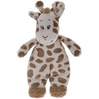 Koopman Plyšová žirafa hnědá, 20 x 13 cm