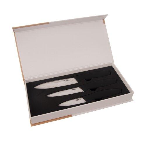 Orion 3-dielna sada keramických kuchynských nožov