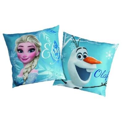 Polštářek Ledové království Frozen Enjoy, 40 x 40 cm