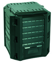 Compogreen komposztáló, 380 l, zöld