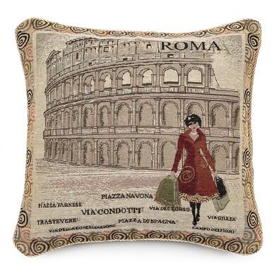 Polštářek Ornament Řím, 43 x 43 cm
